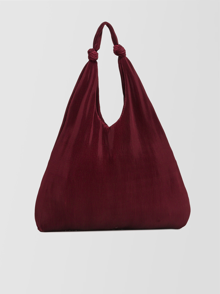 ALPHA STUDIO: PLEATED BAG