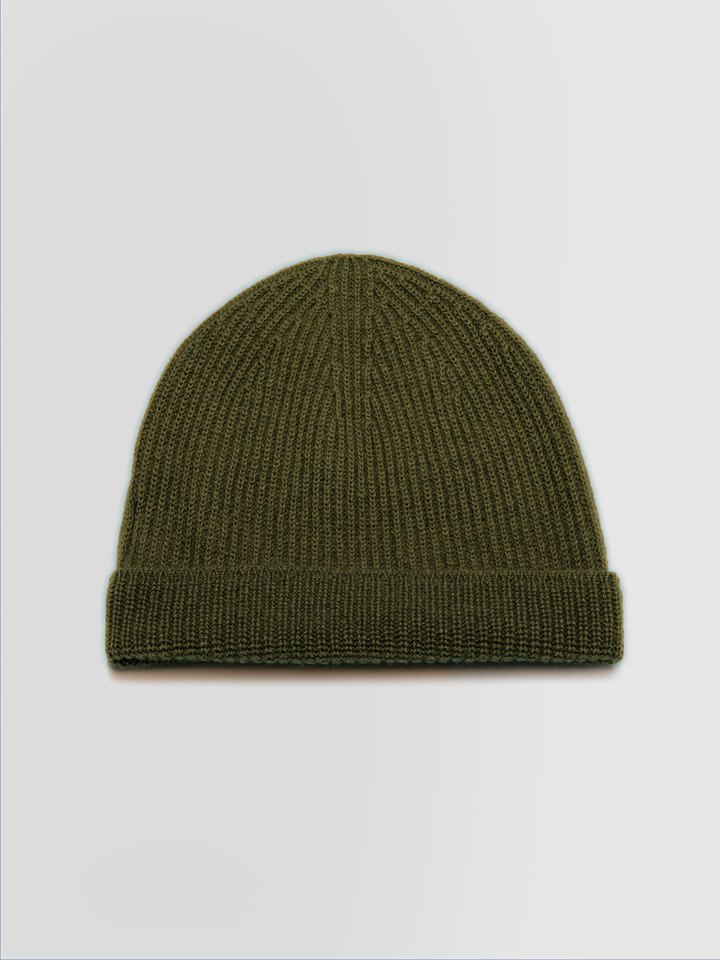 ALPHA STUDIO: NOBEL BEANIE HAT