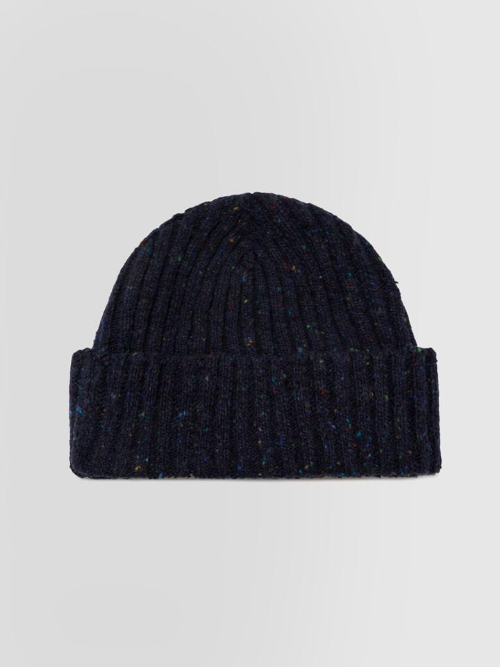 ALPHA STUDIO: RIBBED TWEED HAT