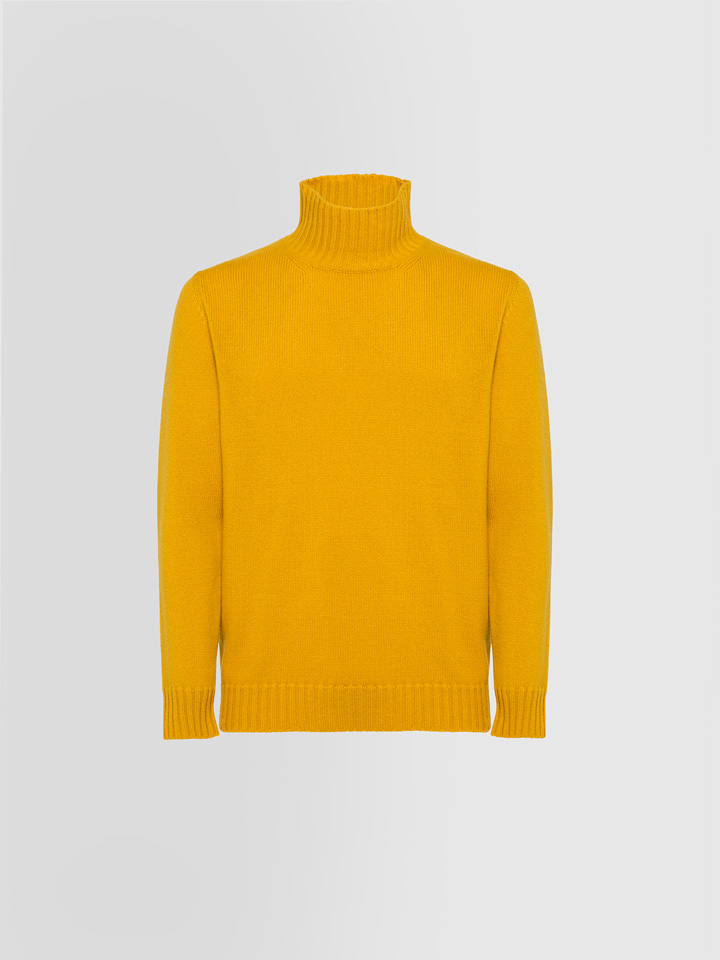 ALPHA STUDIO: LUXURY LABEL COWL NECK SWEATER IN CASHMERE
