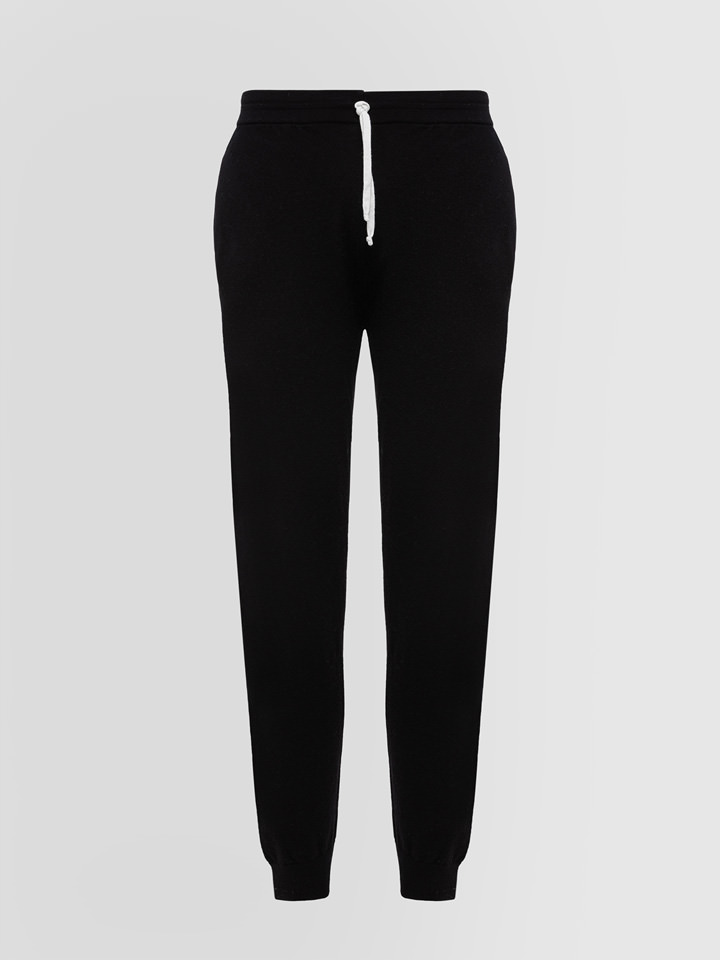 ALPHA STUDIO: SPORT CHIC JOGGING PANTS IN WOOL AND CASHMERE