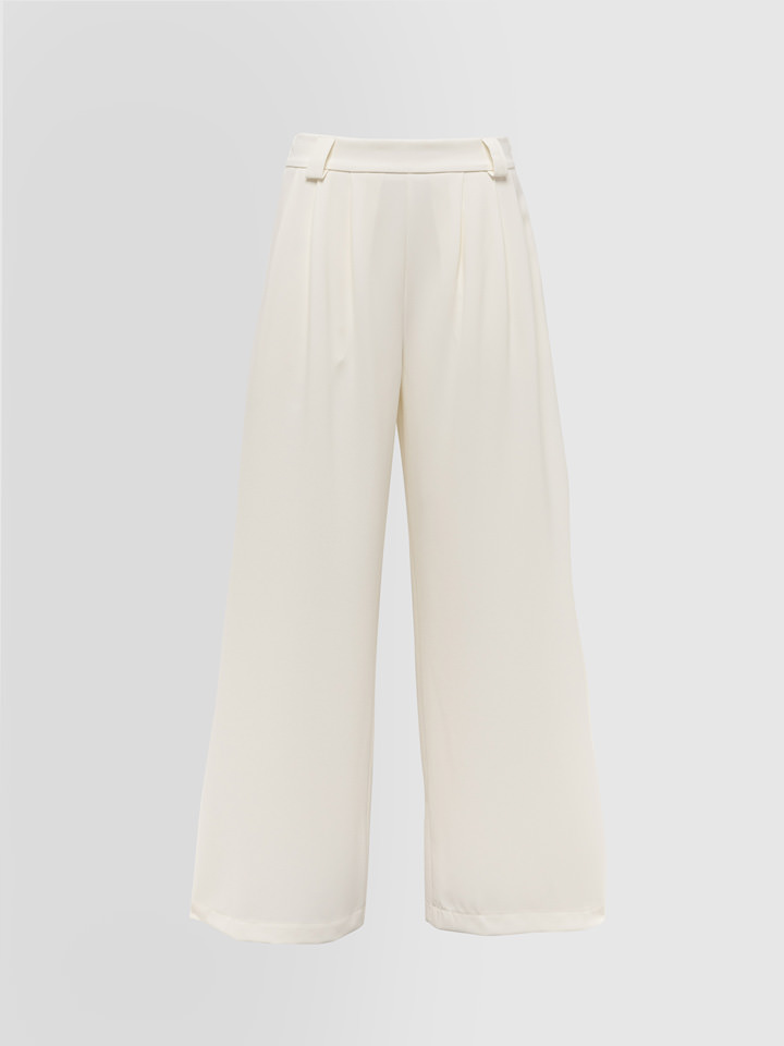 ALPHA STUDIO: PALAZZO PANTS IN CADY