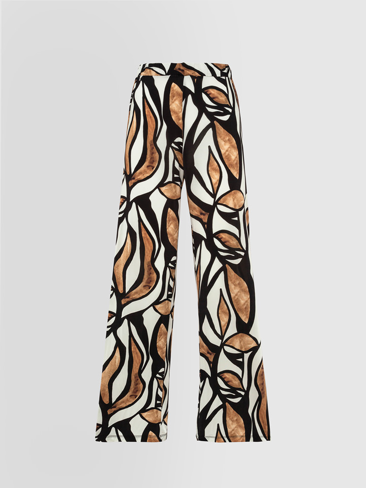 ALPHA STUDIO: RAMAGE PRINT PAJAMA PANTS
