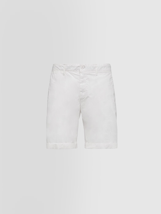 ALPHA STUDIO BERMUDA SHORTS IN LIGHTWEIGHT COTTON
