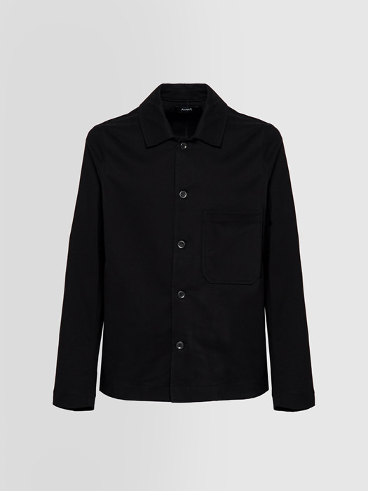 ALPHA STUDIO: DOUBLE FIELD JACKET SHIRT IN COVER COTTON