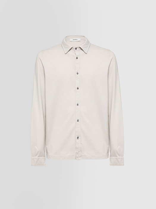 ALPHA STUDIO CAMICIA ICE IN COTONE