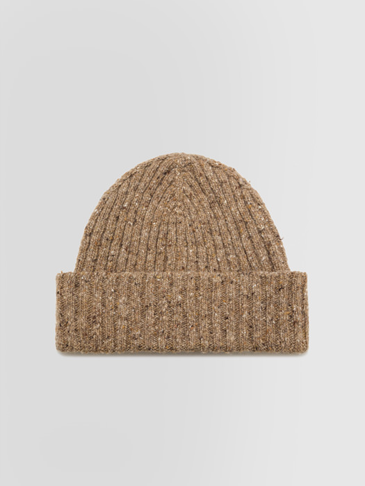ALPHA STUDIO: RIBBED TWEED HAT