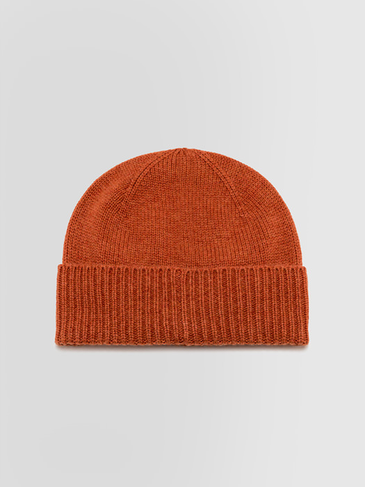 ALPHA STUDIO: LUXURY LABEL HAT IN CASHMERE