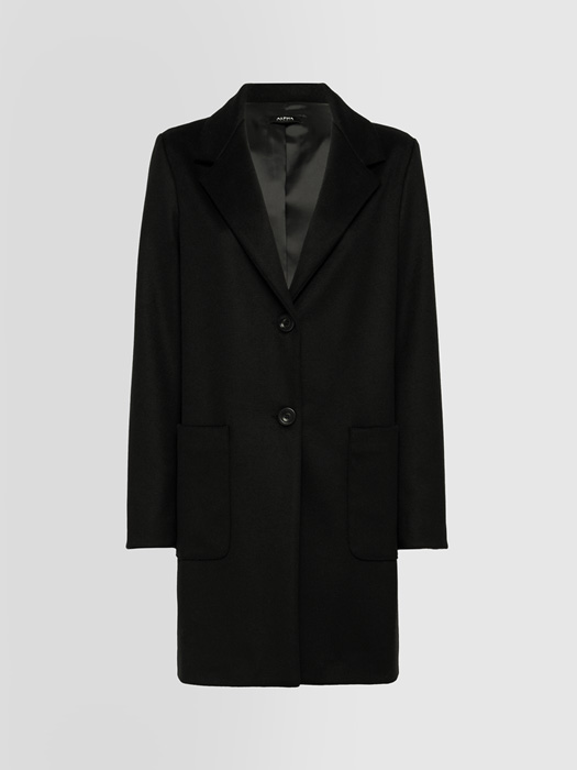 ALPHA STUDIO PEACOT SHAPES LONG COAT