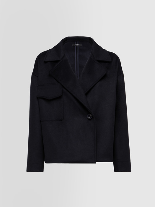 ALPHA STUDIO PEACOT SHAPES COAT