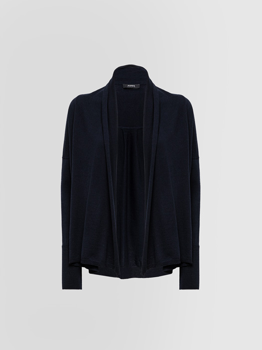ALPHA STUDIO: CONTEMPORARY CARDIGAN IN WOOL