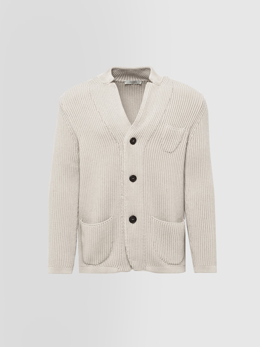 ALPHA STUDIO CARDIGAN COSTA INGLESE IN COTONE