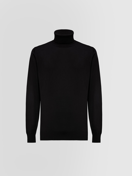 ALPHA STUDIO DELUXE TURTLE NECK SWEATER IN WOOL