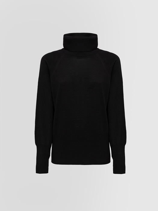 ALPHA STUDIO EVOLUTION TURTLE NECK SWEATER IN MERINO WOOL