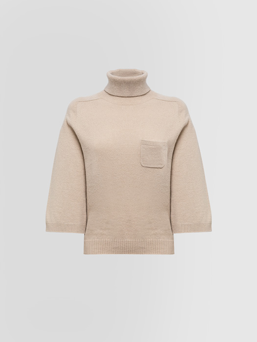 ALPHA STUDIO LUXURY LABEL ENGLISH STYLE TURTLE NECK SWEATER