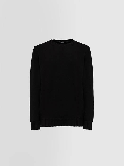 ALPHA STUDIO CREW NECK IN MERINO WOOL