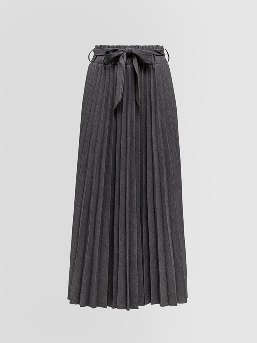 ALPHA STUDIO PLEATED LONG SKIRT