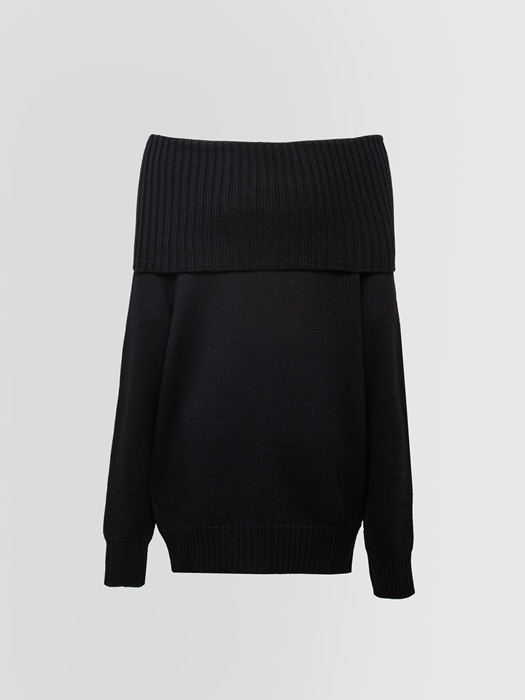 ALPHA STUDIO INFORMAL SWEATER IN WOOL