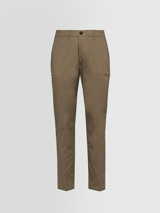 ALPHA STUDIO CHINO PANTS IN COTTON