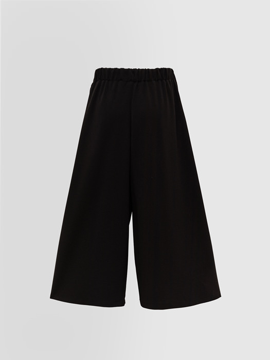 ALPHA STUDIO: CULOTTES PANTS IN CREPON JERSEY
