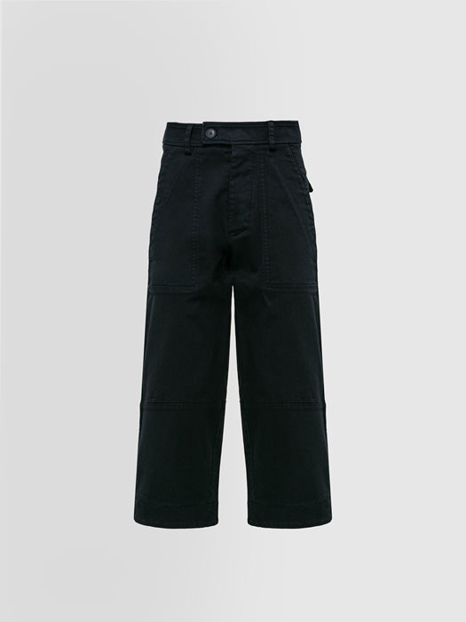 ALPHA STUDIO PANTALONE FLARE IN DENIM