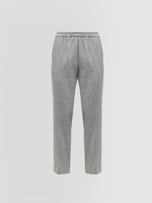 ALPHA STUDIO CIGARETTE PANTS IN FLANNEL