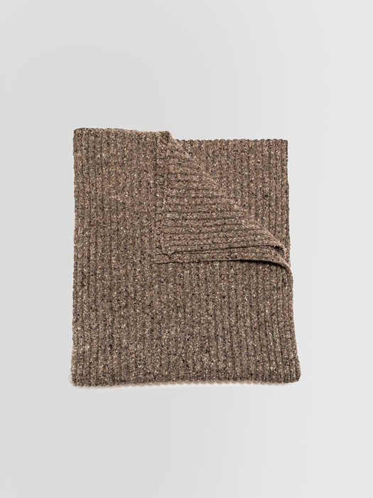 ALPHA STUDIO: RIBBED TWEED SCARF