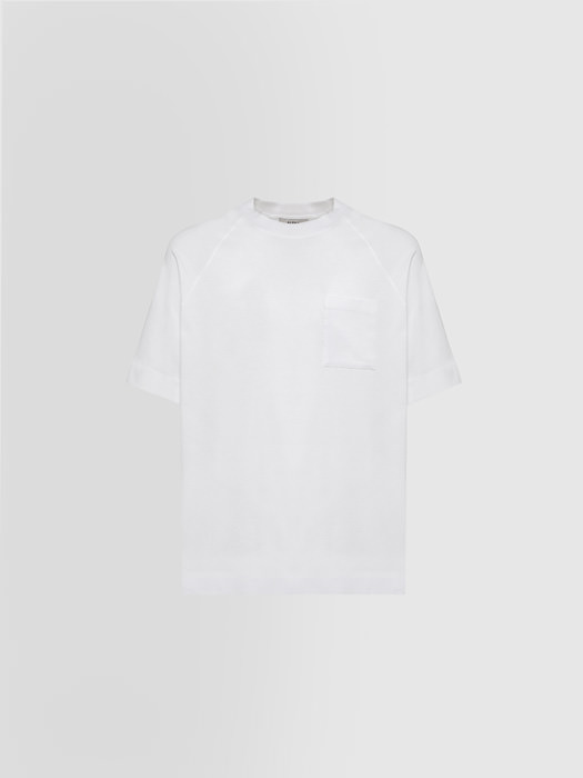 ALPHA STUDIO: T-SHIRT IN STRETCH COTTON
