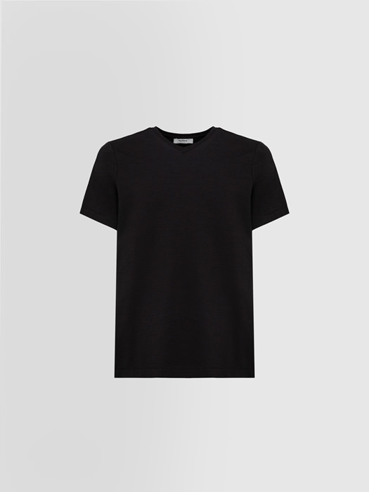 ALPHA STUDIO T-SHIRT IN COTONE STRETCH