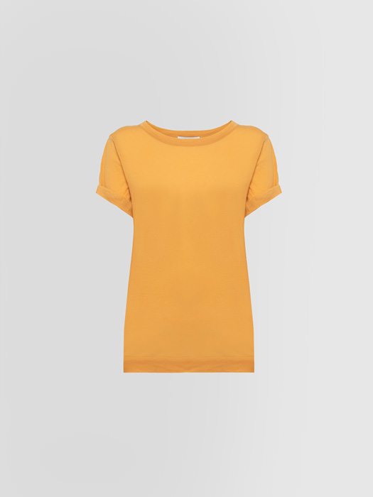 ALPHA STUDIO T-SHIRT VOILE IN COTONE